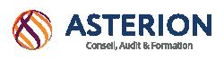 Logo Asterion services, conseil en sécurité environnment